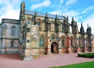 Private tour of Rosslyn Chapel, Scotland